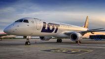 SP-LMB - LOT - Polish Airlines Embraer ERJ-190 (190-100) aircraft