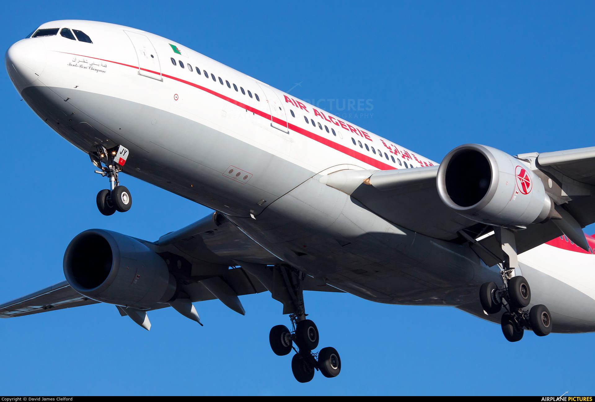 Air Algerie 7T-VJY aircraft at London - Heathrow