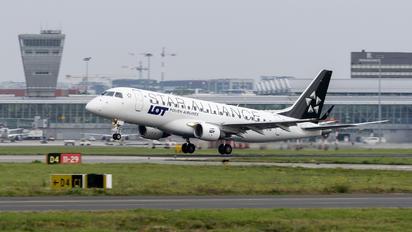 SP-LIO - LOT - Polish Airlines Embraer ERJ-175 (170-200)