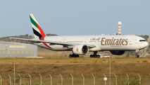 A6-EBW - Emirates Airlines Boeing 777-300ER aircraft