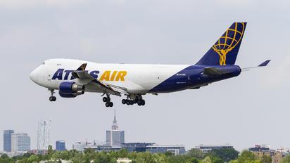 N418MC - Atlas Air Boeing 747-400F, ERF
