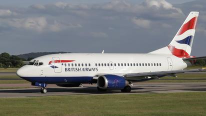 G-GFFE - British Airways Boeing 737-500