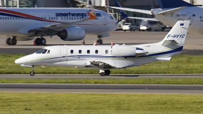 F-HVYC - Private Cessna 560XL Citation XLS