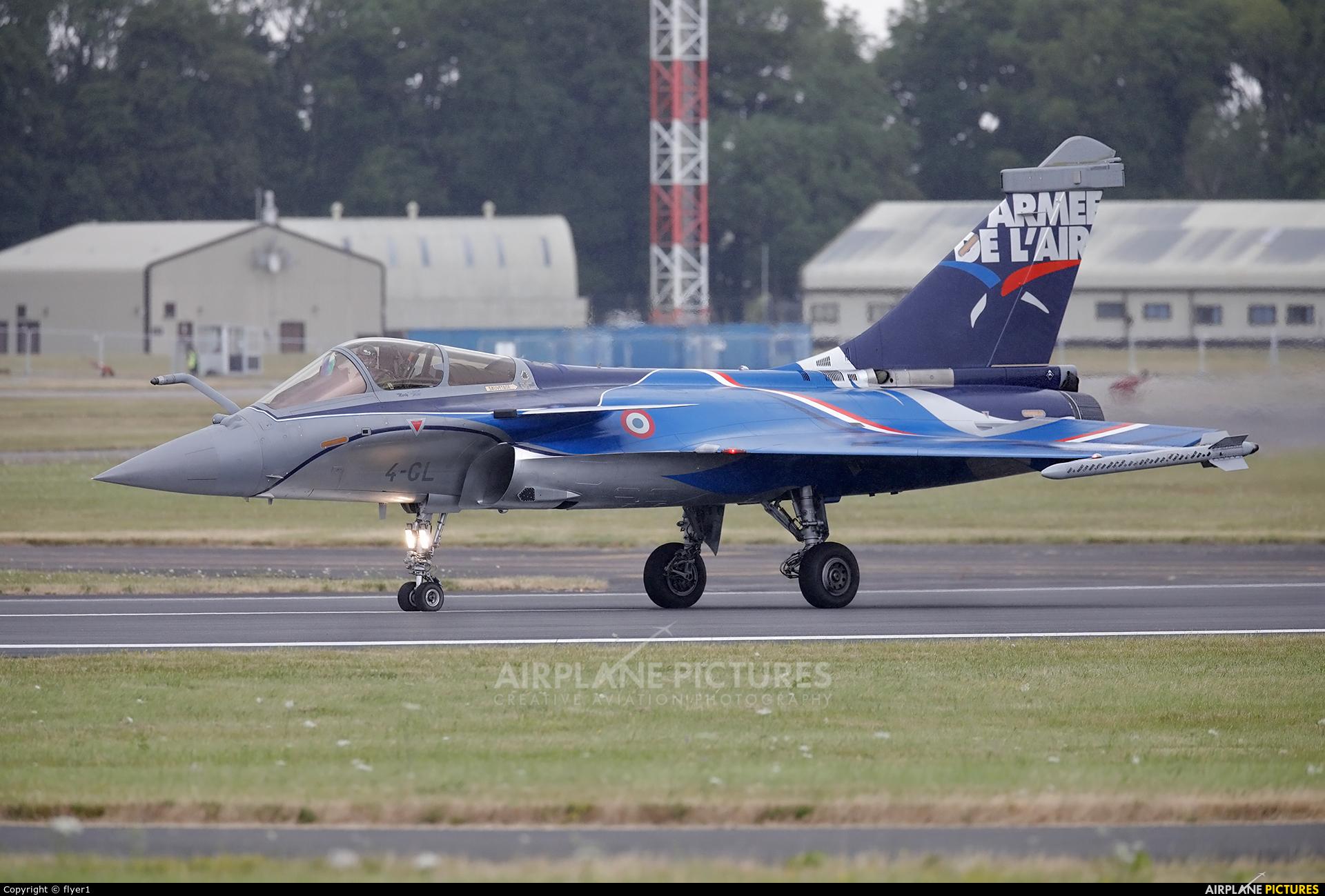 France - Air Force 4-GL aircraft at Fairford