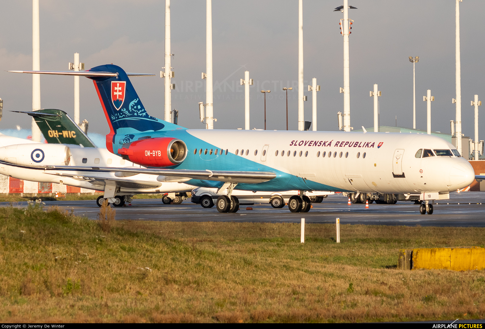 Slovakia - Government OM-BYB aircraft at Brussels - Zaventem