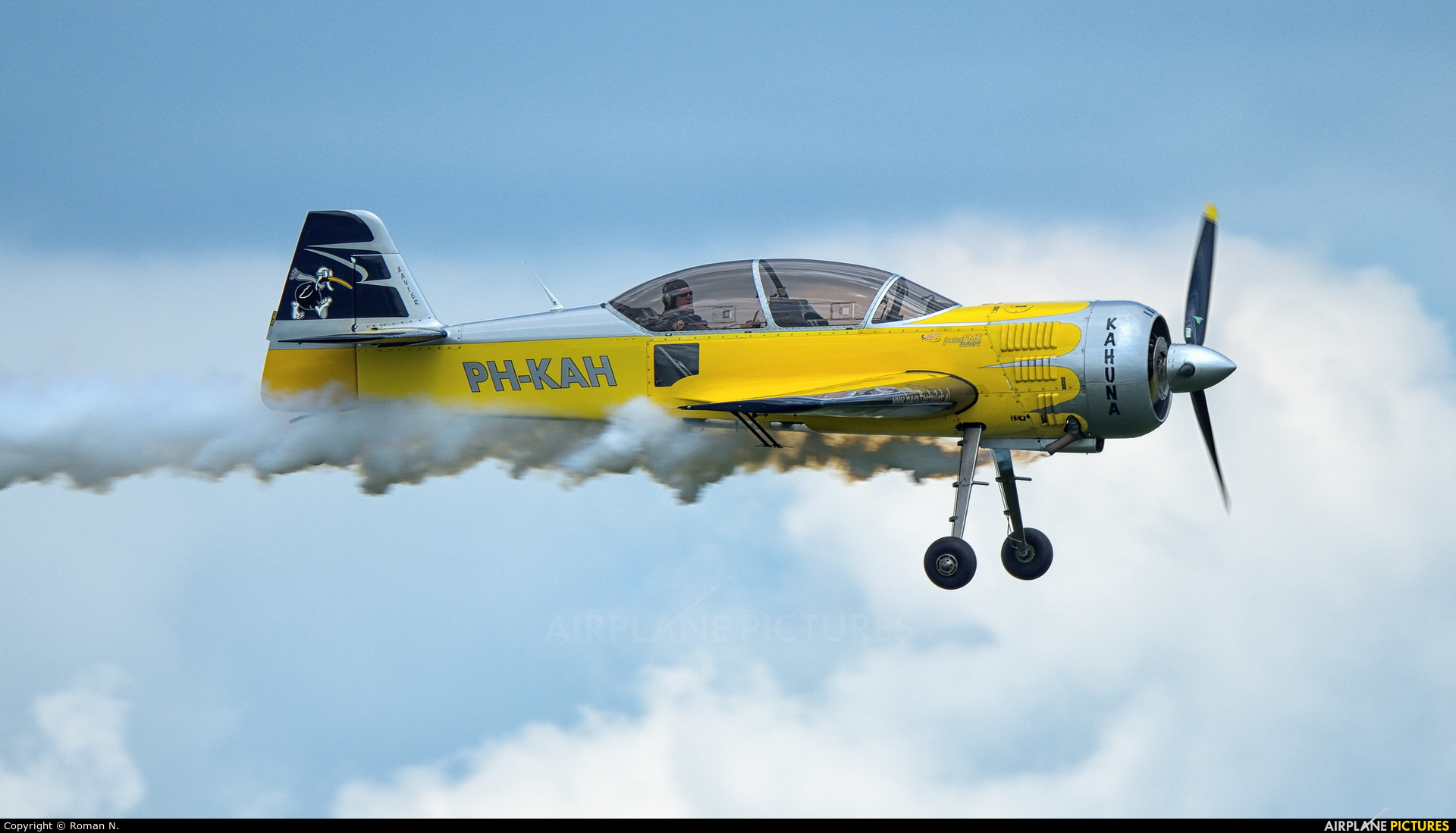 Private PH-KAH aircraft at Oostwold