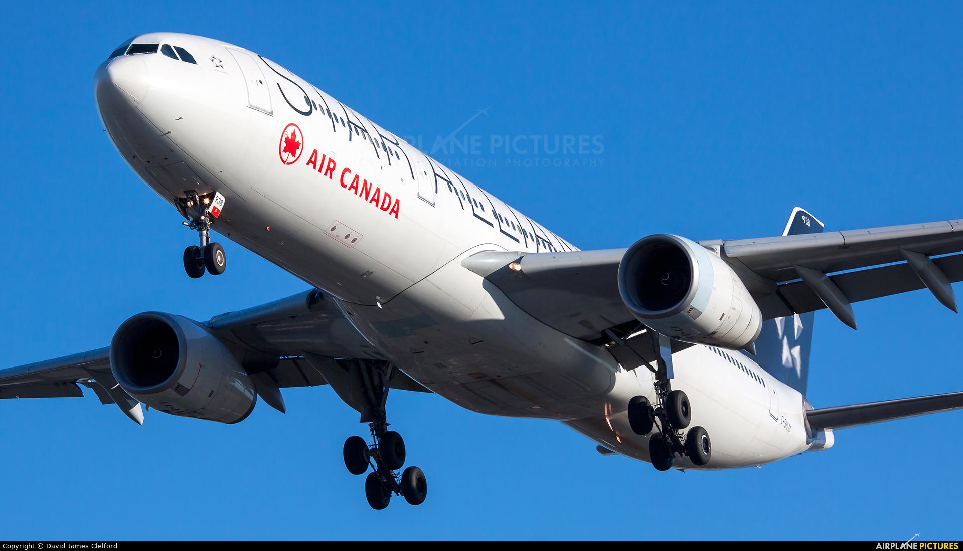 Air Canada C-GHLM aircraft at London - Heathrow