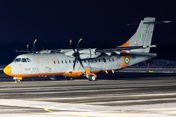 NAF931 - Nigeria - Air Force ATR 42-400MP Surveyor