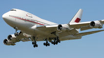 A9C-HMH - Bahrain Amiri Flight Boeing 747SP aircraft