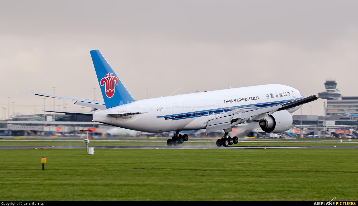 China Southern Cargo B-2010 aircraft at Amsterdam - Schiphol