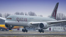 A7-BHD - Qatar Airways Boeing 787-9 Dreamliner aircraft