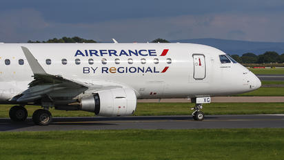 F-HBXG - Air France - Hop! Embraer ERJ-170 (170-100)