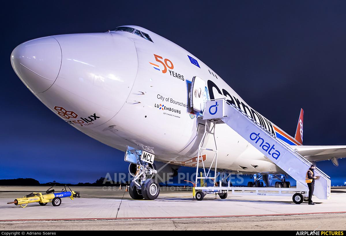 Cargolux LX-MCL aircraft at Curitiba -  Afonso Pena