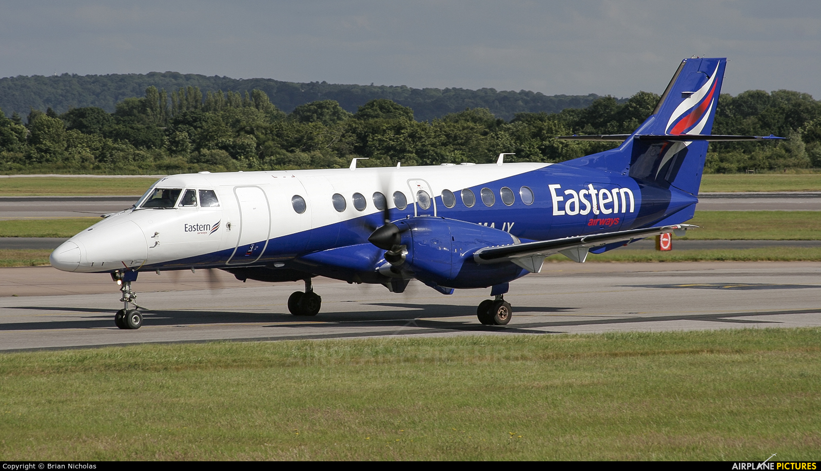 Eastern Airways G-MAJY aircraft at Manchester