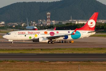B-7113 - 9 Air Boeing 737-800