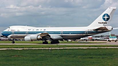 PP-VNA - VARIG Boeing 747-200