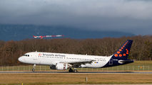 OO-SNJ - Brussels Airlines Airbus A320 aircraft