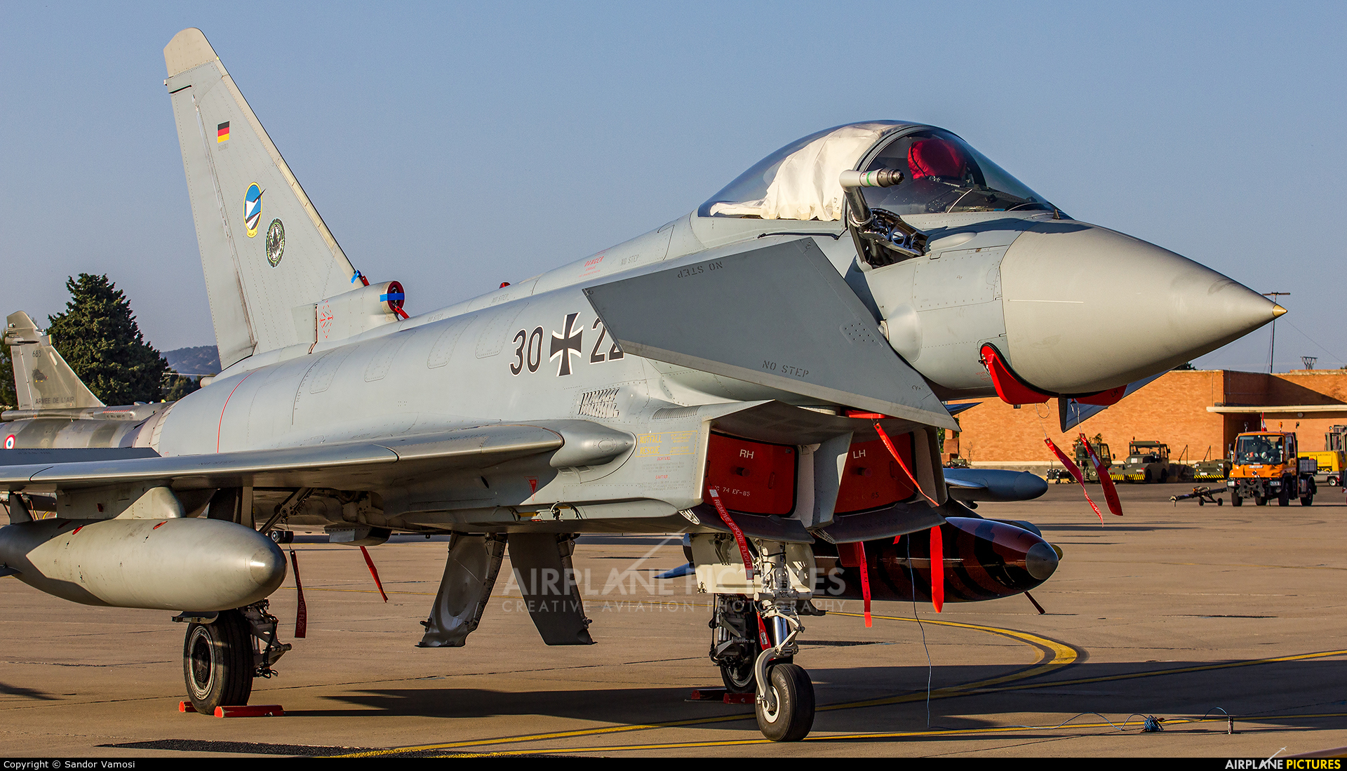 Germany - Air Force 30+22 aircraft at Zaragoza