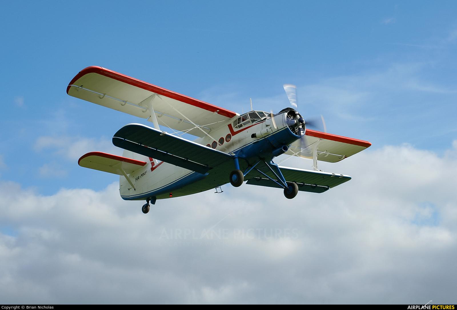 Private MA-MKF aircraft at Popham