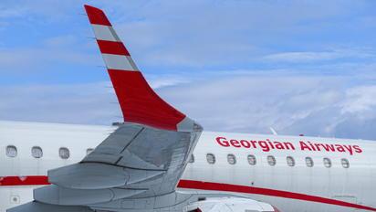 4L-MGT - Airzena - Georgian Airlines Embraer ERJ-195 (190-200)