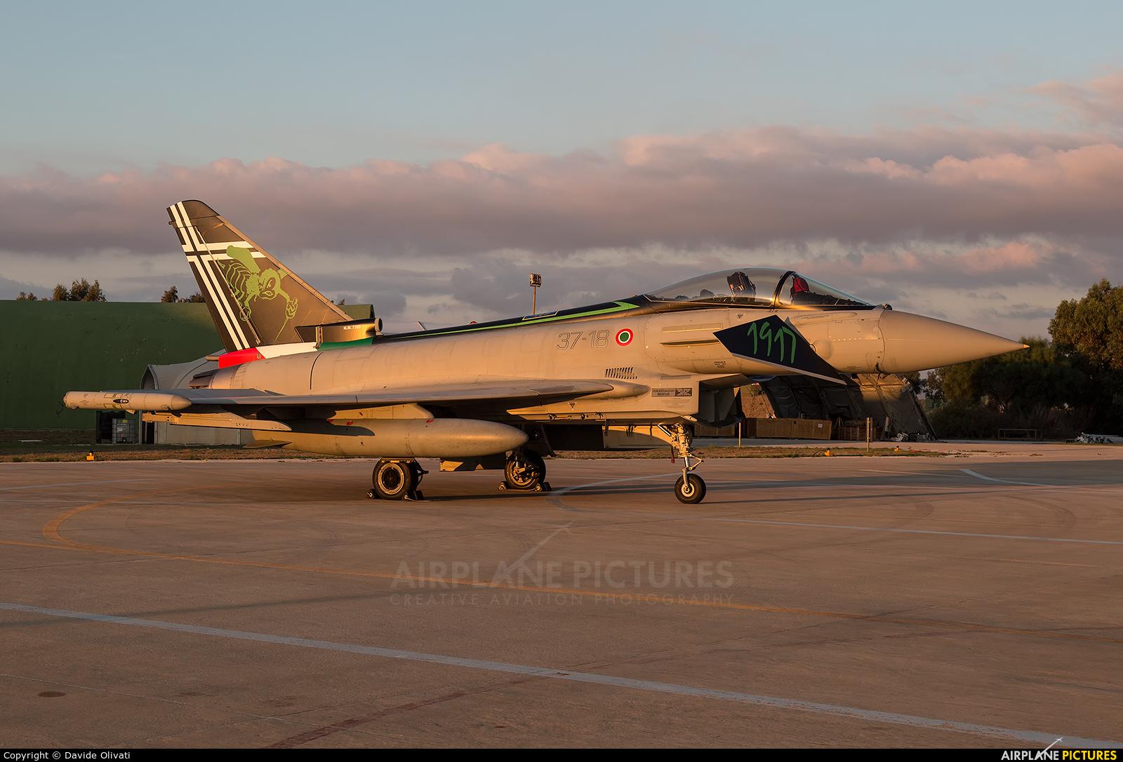 Italy - Air Force MM7293 aircraft at Trapani - Birgi