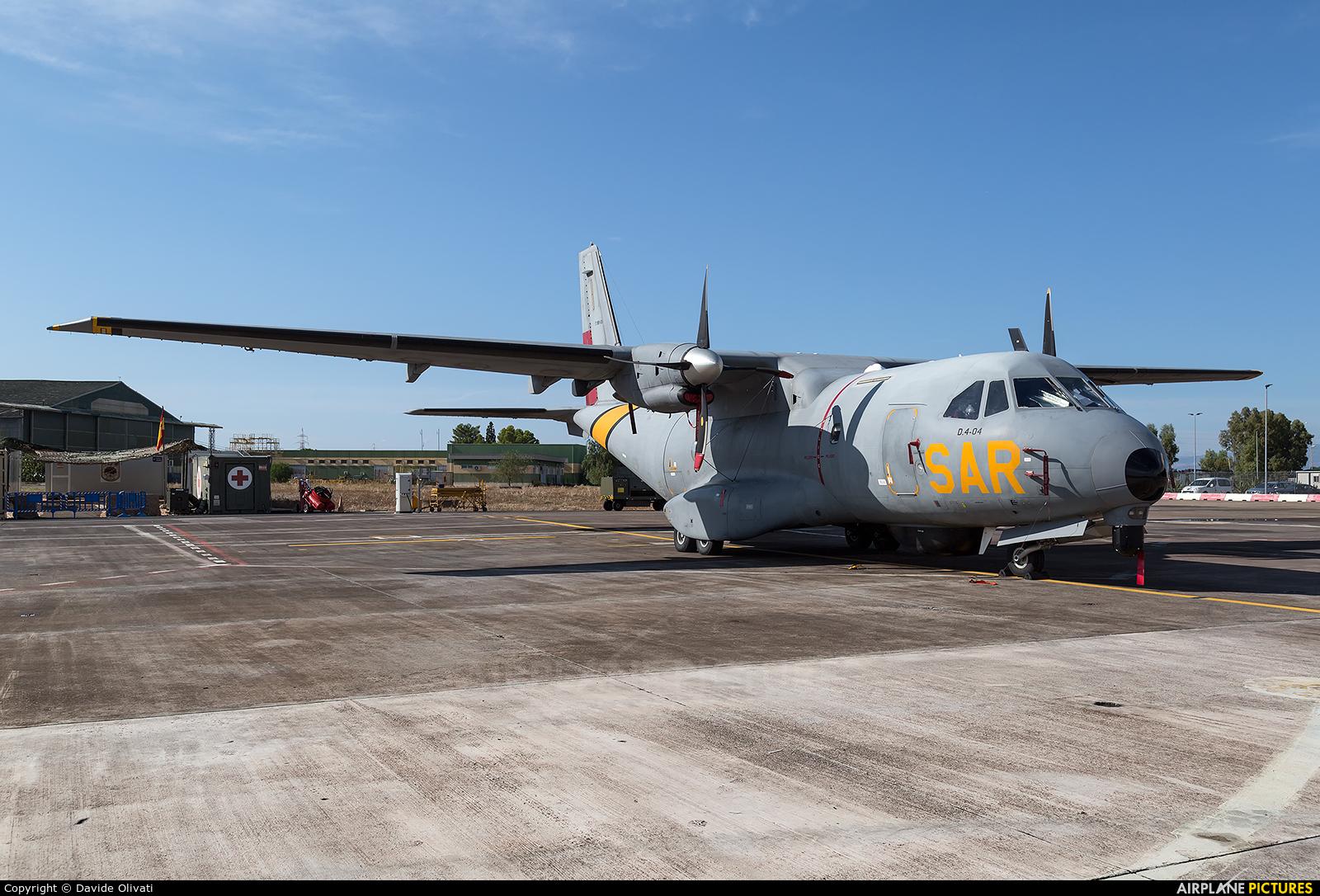 Spain - Air Force T.19B-08 aircraft at Sigonella