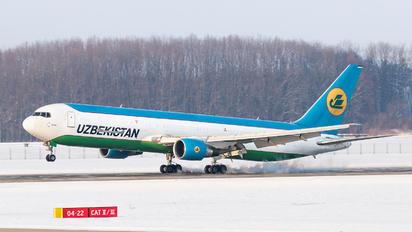 UK67002 - Uzbekistan Airways Boeing 767-300