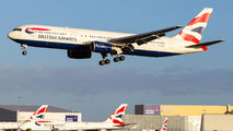 G-BNWO - British Airways Boeing 767-300ER aircraft