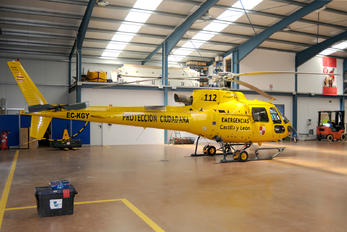 EC-KGY - CoyotAir Eurocopter Ecureuil AS350/B3e