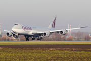 A7-BGA - Qatar Airways Cargo Boeing 747-8F aircraft