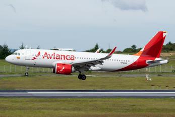 N764AV - Avianca Airbus A320 NEO