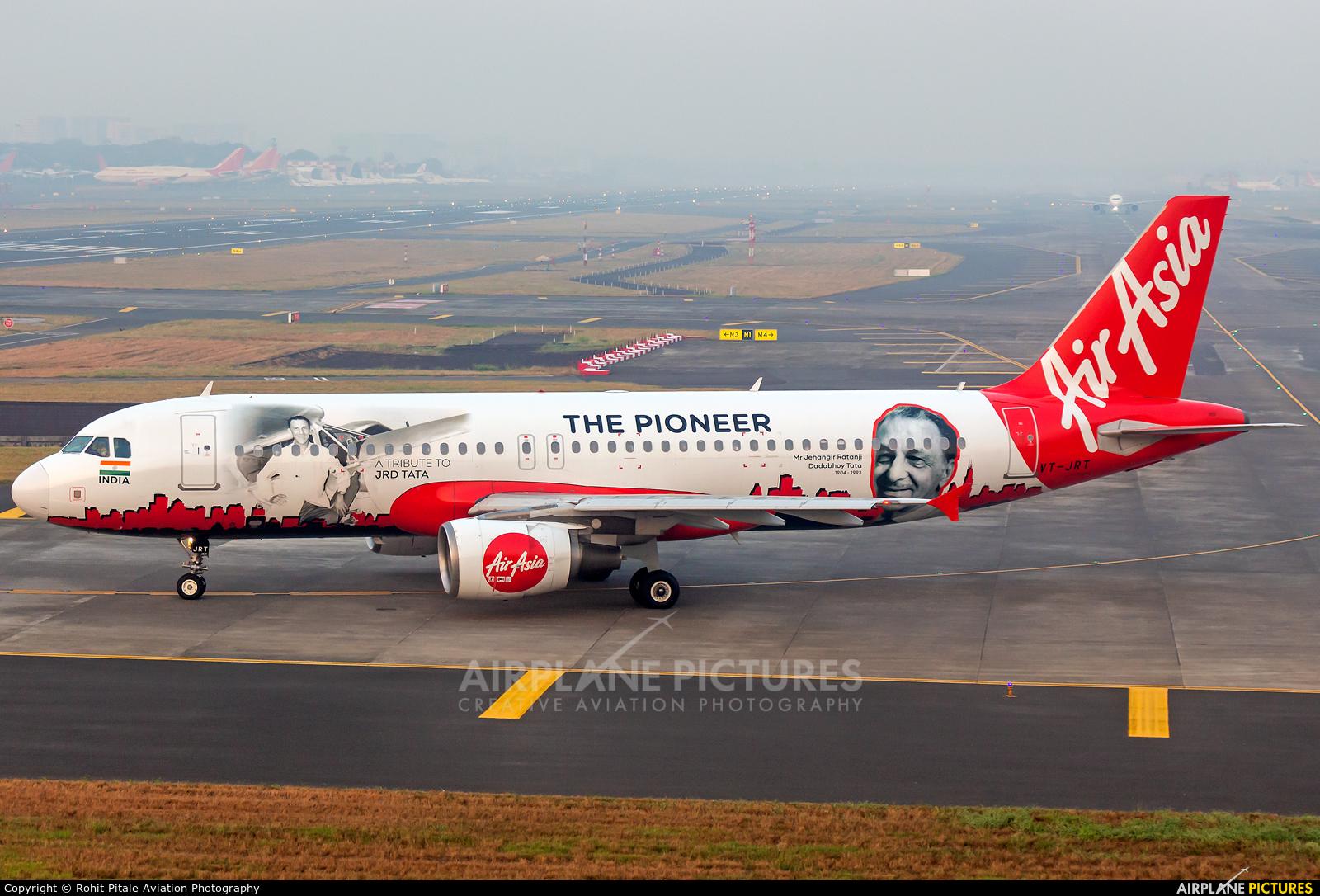 AirAsia (India) VT-JRT aircraft at Mumbai - Chhatrapati Shivaji Intl