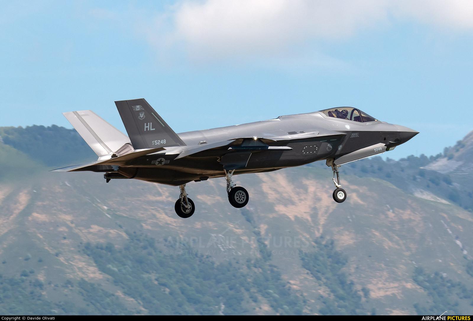 USA - Air Force 17-5248 aircraft at Aviano