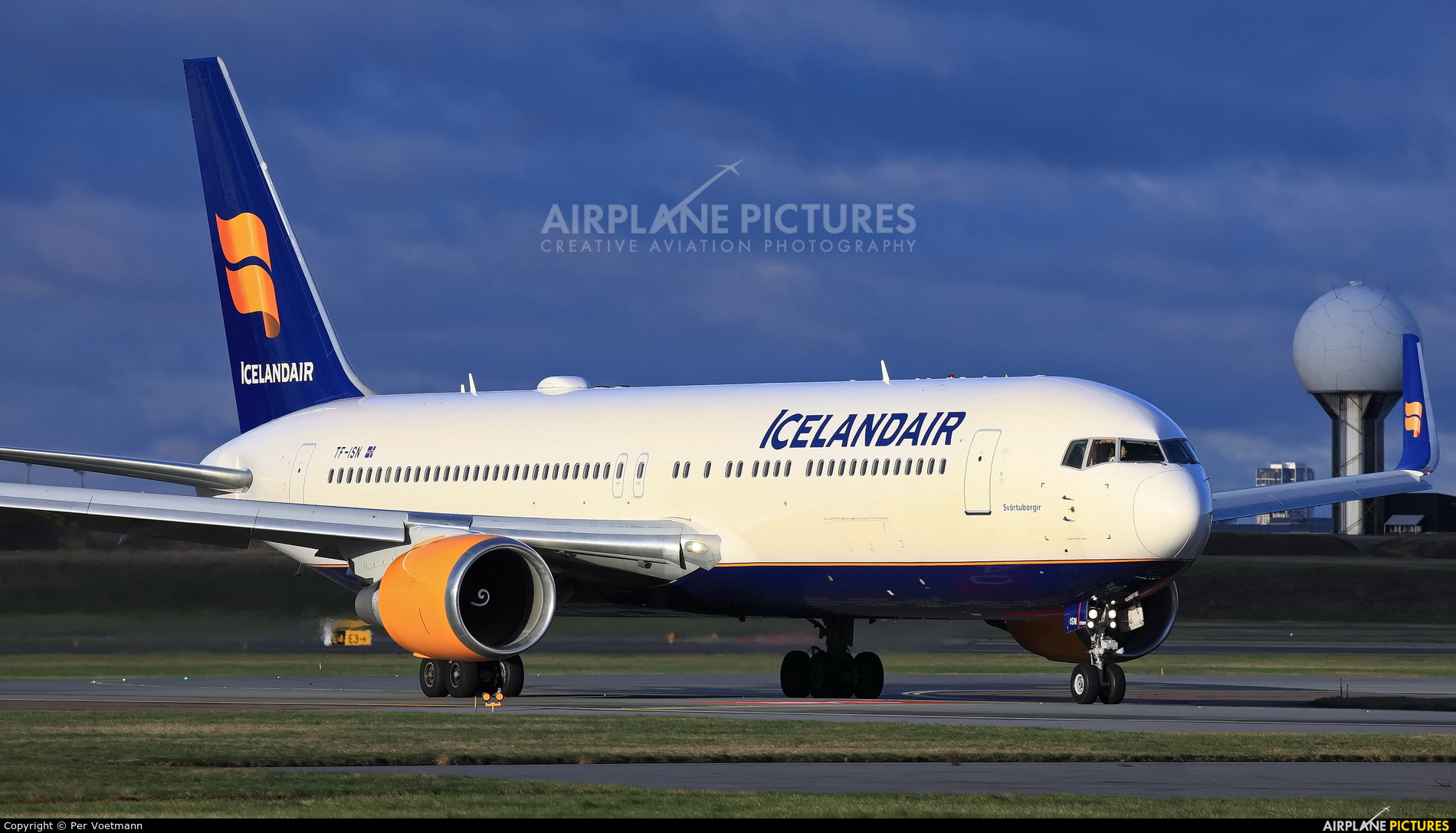 Icelandair TF-ISN aircraft at Copenhagen Kastrup