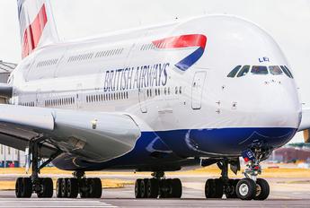 G-XLEI - British Airways Airbus A380