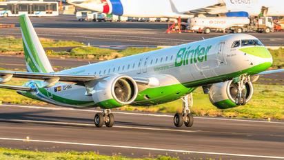 EC-NHA - Binter Canarias Embraer ERJ-195-E2