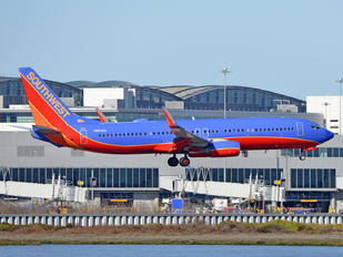 N8648A - Southwest Airlines Boeing 737-800