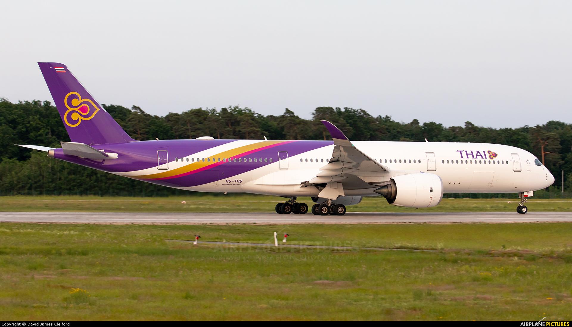 Thai Airways HS-THB aircraft at Frankfurt