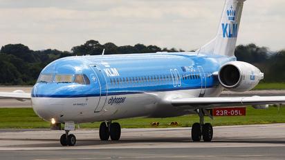 PH-OFO - KLM Cityhopper Fokker 100