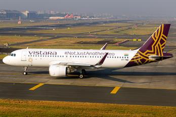 VT-TNB - Vistara Airbus A320 NEO