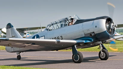 G-BGOR - Private North American Harvard/Texan (AT-6, 16, SNJ series)