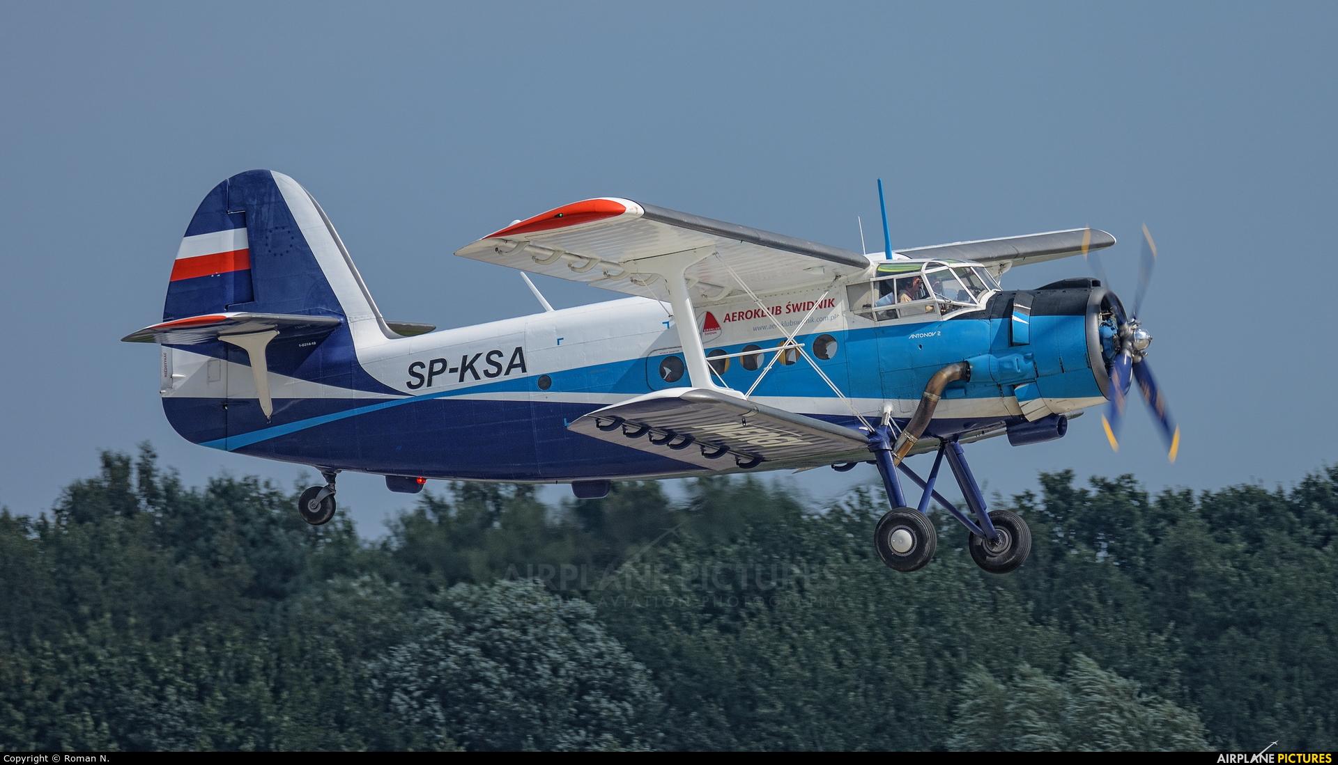 Aeroklub Świdnik SP-KSA aircraft at Gdynia- Babie Doły (Oksywie)