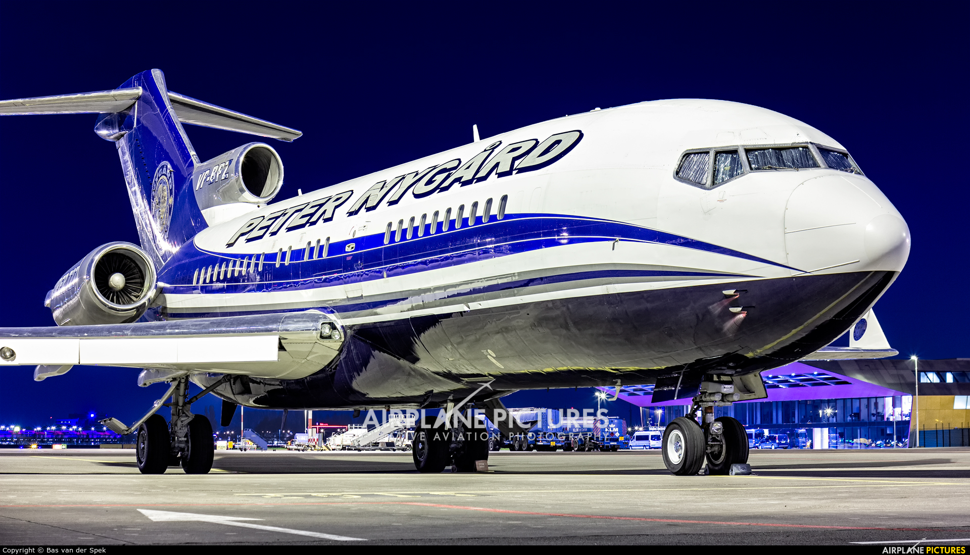Private VP-BPZ aircraft at Amsterdam - Schiphol