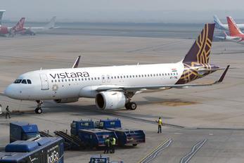 VT-TNL - Vistara Airbus A320 NEO