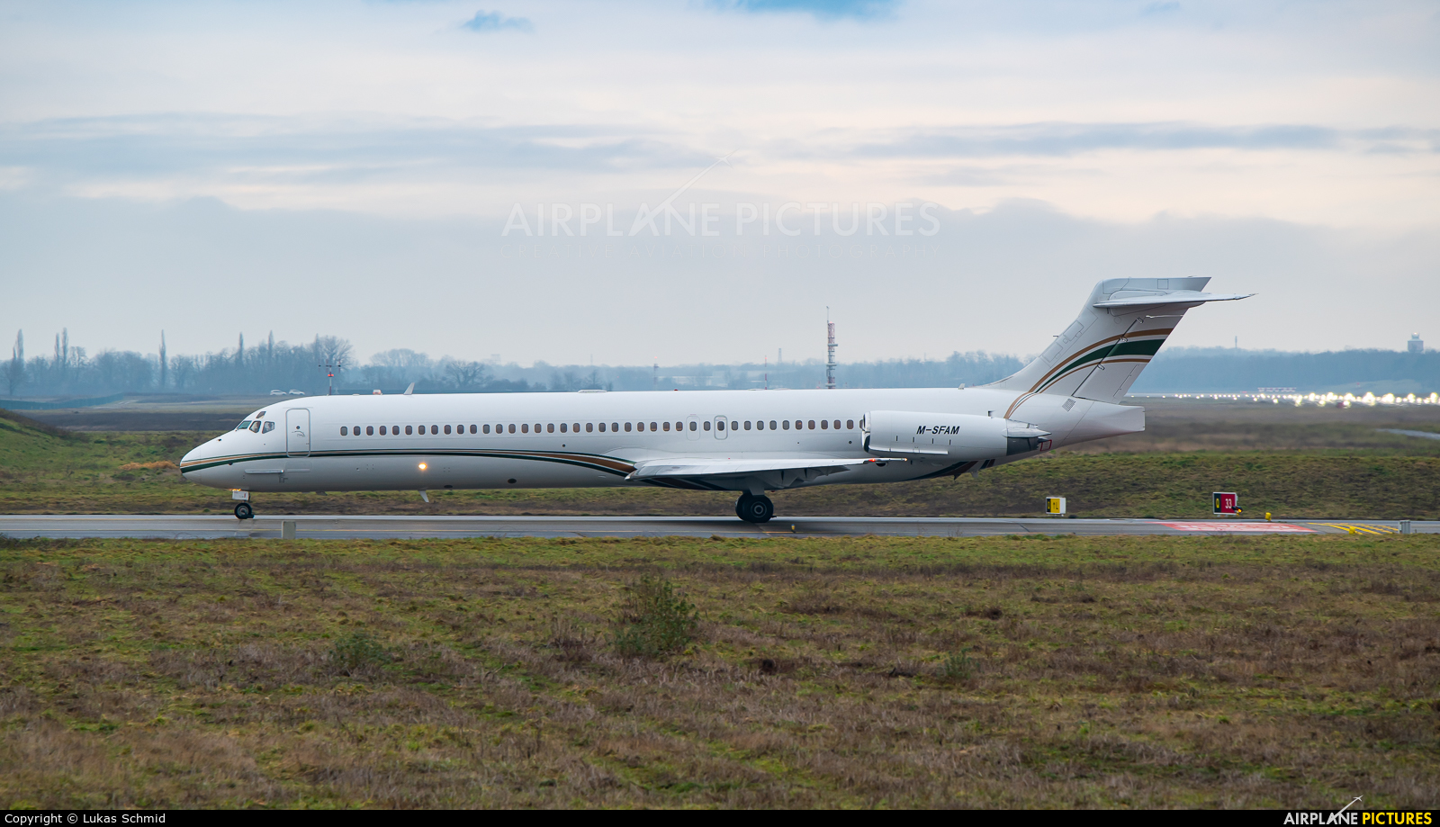 Private M-SFAM aircraft at Basel - Mulhouse- Euro