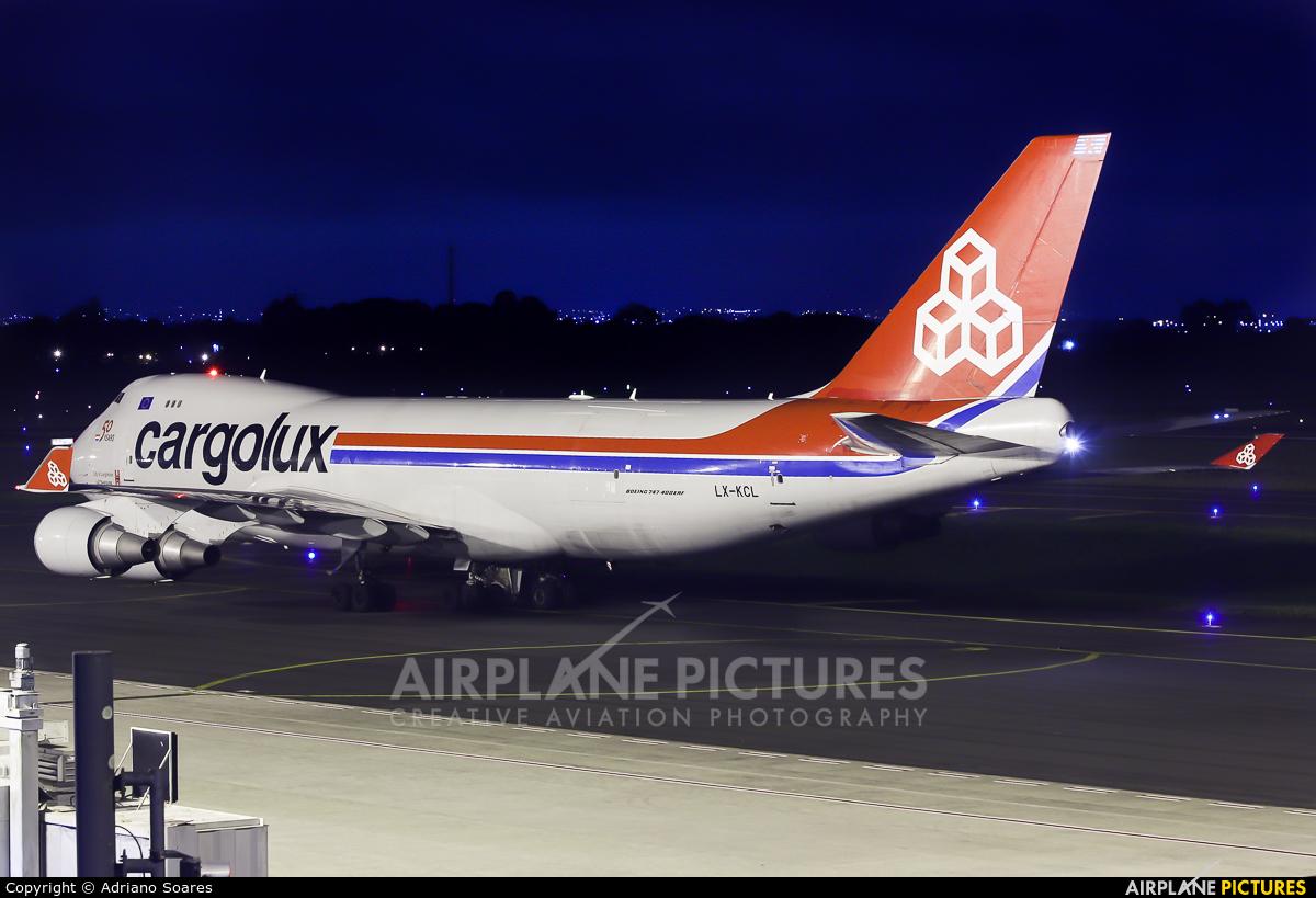 Cargolux LX-KCL aircraft at Curitiba -  Afonso Pena