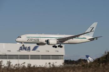 JA825J - ZIPAIR Tokyo Boeing 787-8 Dreamliner