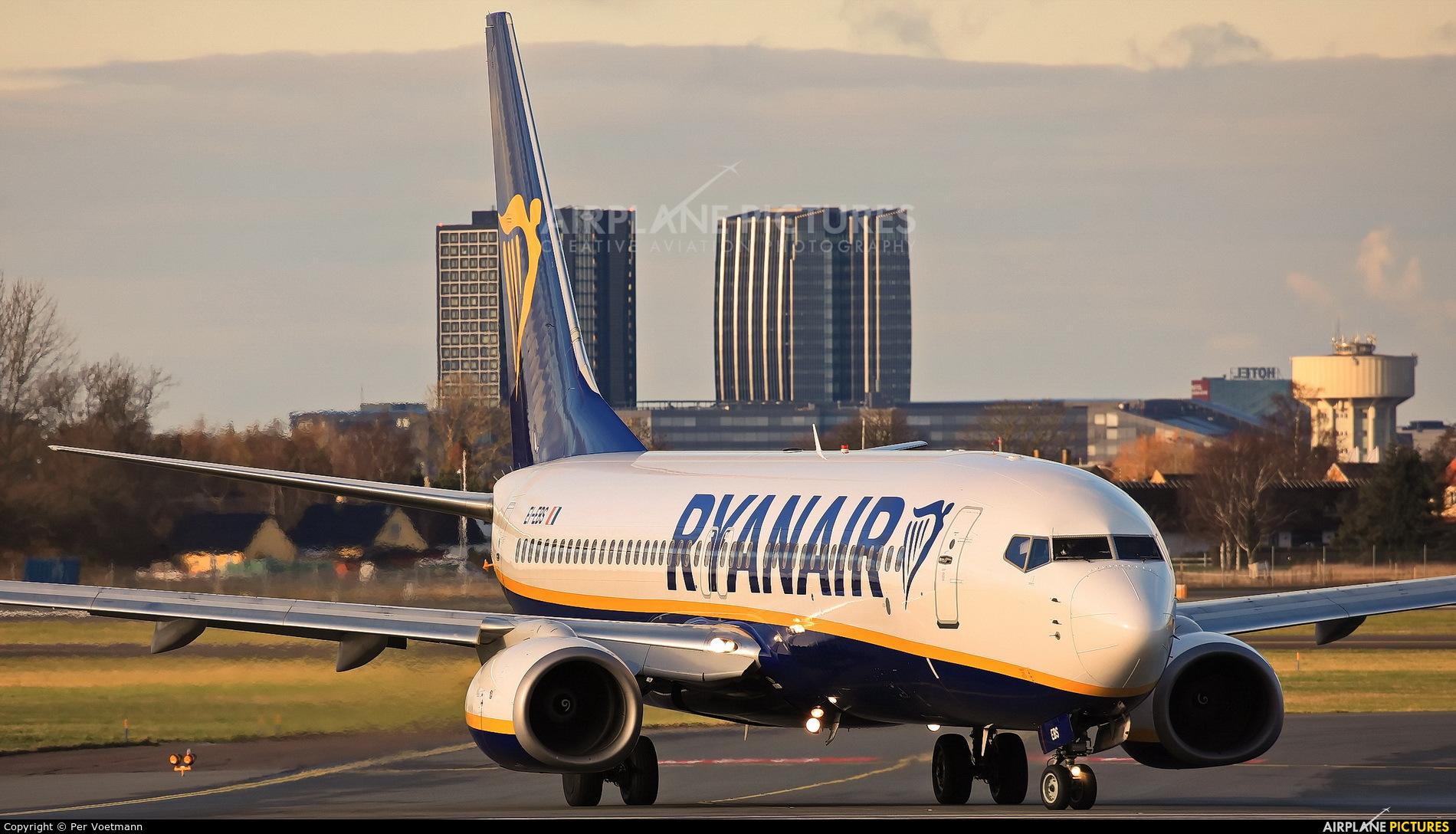 Ryanair EI-EBS aircraft at Copenhagen Kastrup