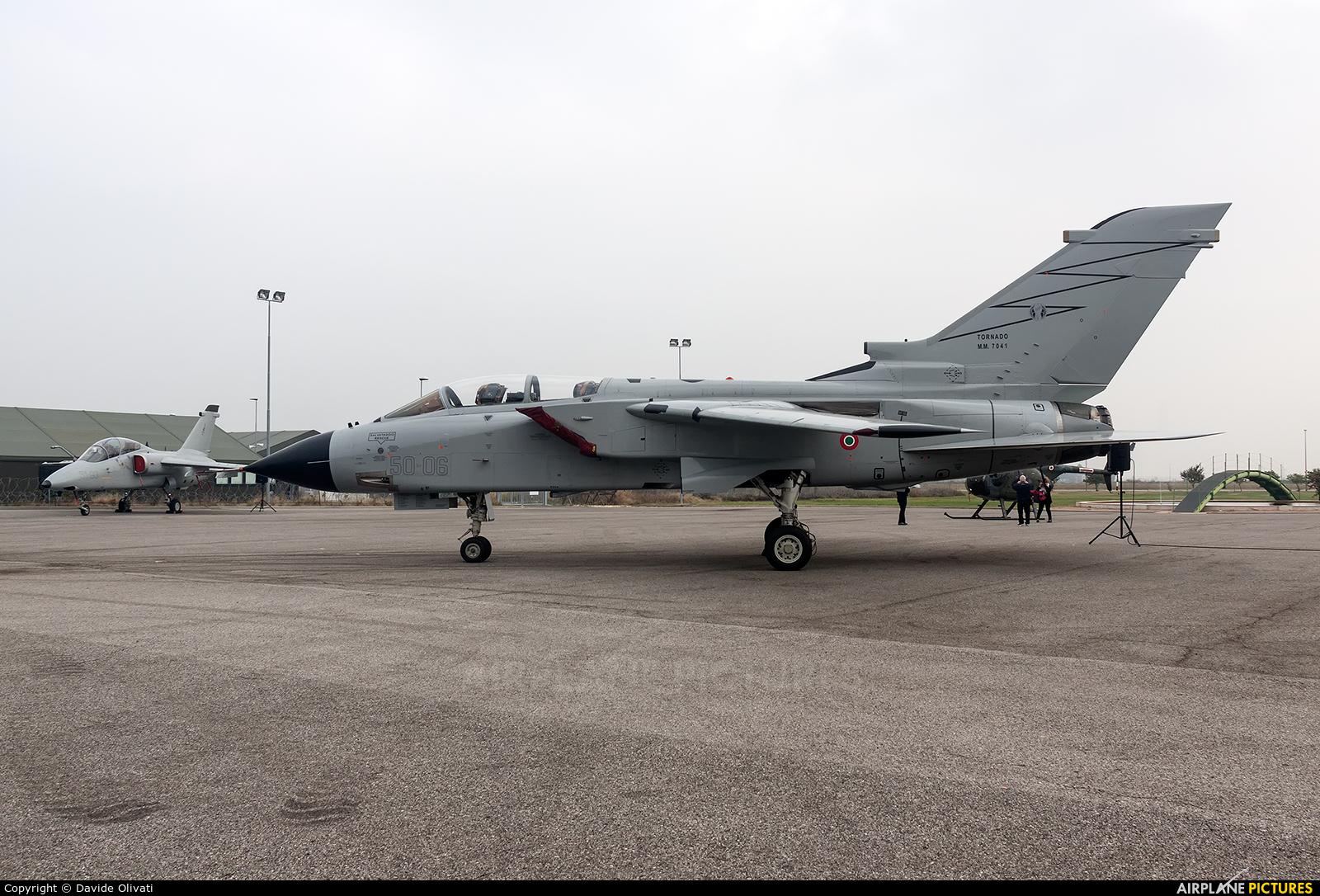 Italy - Air Force MM7041 aircraft at Off Airport - Italy