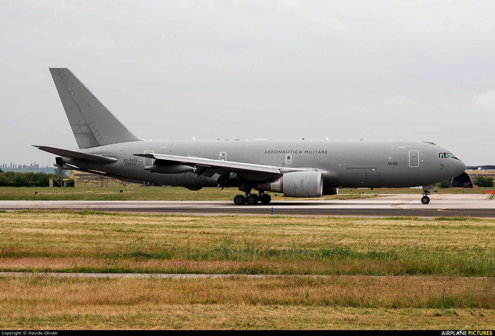 Italy - Air Force MM62228 aircraft at Verona - Villafranca